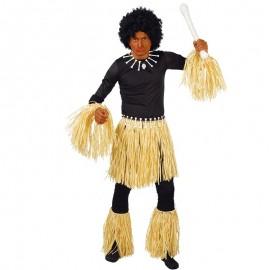Disfraz Conjunto Zulú para adultos