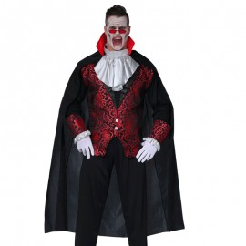 Capa de Vampiro de 140 cm para adulto