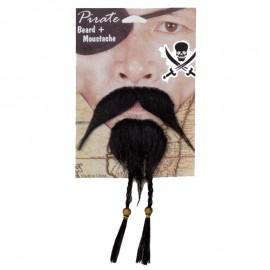 Barba y Bigote Pirata.