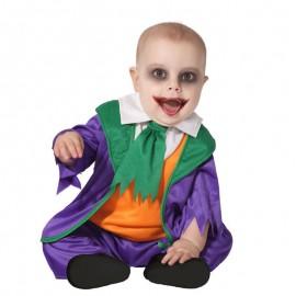 Disfraz de Payaso Villano para bebé
