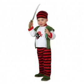 Disfraz de Bebe Pirata