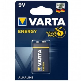 VARTA ENERGY PILA ALCALINA 9V LR61 BLISTER*1