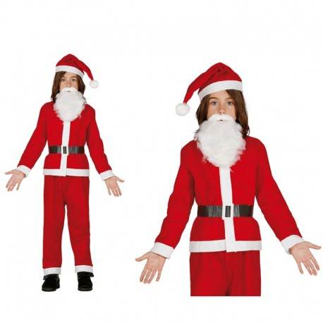 Disfraz de Papa Noel de niño