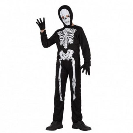 Disfraz de Esqueleto de niño
