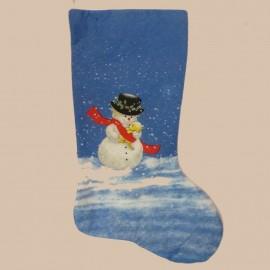 Calcetín para caramelos de Navidad