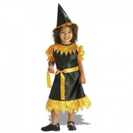Disfraz de Bruja de niña