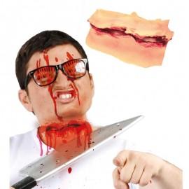 Cicatriz Corte de Cuello para caracterización