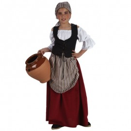 Disfraz de Mesonera para niña