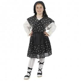 Disfraz de Castañera campesina para niña