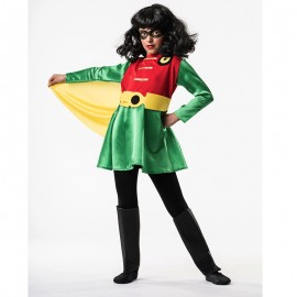 Disfraz de Super Robina de niña