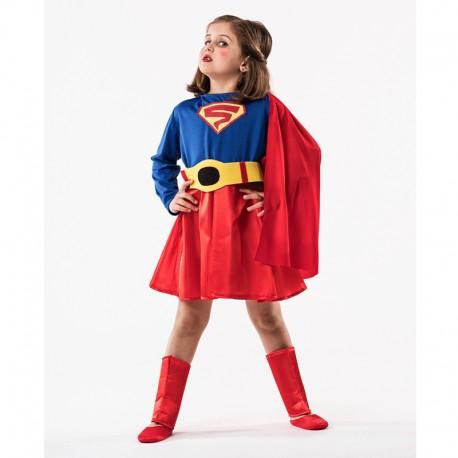 Disfraz de Superheroina de niña