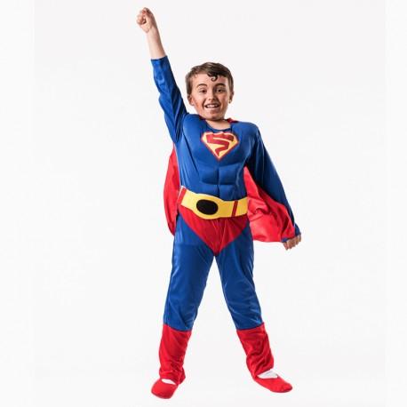 Disfraz de Super Azul de niño