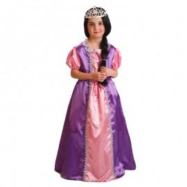 Disfraz de Princesa Morada de niña