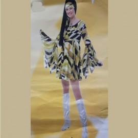Disfraz Años 70 para mujer
