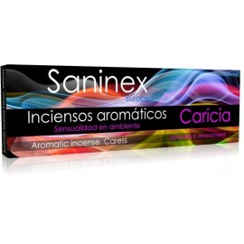 SANINEX  INCIENSO AROMATICO CARICIA 20 STICKS.