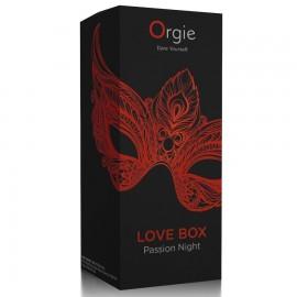 ORGIE LOVE BOX PASSION NIGHT ESTIMULADOR CLITORIS EFECTO CALOR KISSABLE