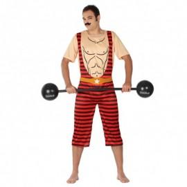 Disfraz de forzudo para hombre