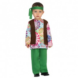 Disfraz de hippie para bebé