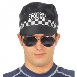 Gorra de Policía para adulto