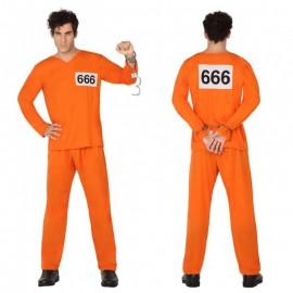 Disfraz de Presidario para adulto