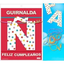 GUIRNALDA FELIZ CUMPLEAÑOS 3 METROS