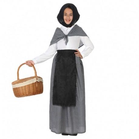 Disfraz de Castañera, para niña