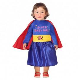 Disfraz de Supér Heroína para bebe