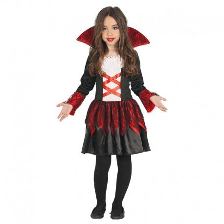 Disfraz de Vampira Baronesa para niña