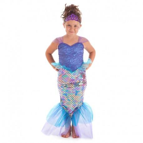 Disfraz de Sirena para niña
