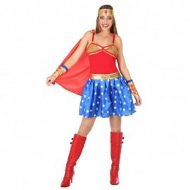 Disfraz de Superheroína para mujer