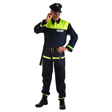 Disfraz de Policia para hombre