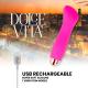 DOLCE VITA VIBRADOR RECARGABLE ONE ROSA 10 VELOCIDADES