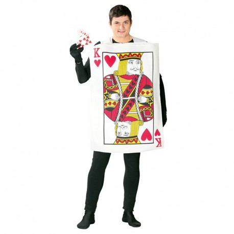 Disfraz de Carta de Poker