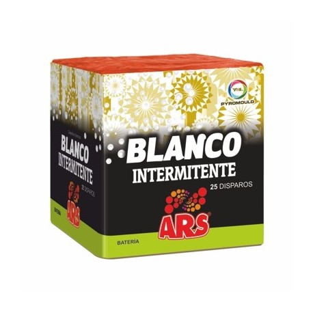 BLANCO INTERMITENTE 25 DISPAROS