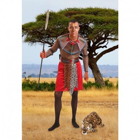 Disfraz de Hombre de Tribu Africana