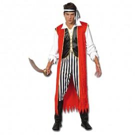 Disfraz de Rey Pirata para hombre