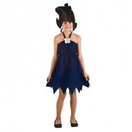 Disfraz de cavernícola Betty para niña