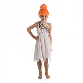 Disfraz de cavernícola Wilma para niña