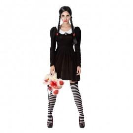 Disfraz de niña Fantasma para mujer