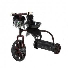 Triciclo para decoración con luz y sonido