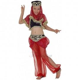 Disfraz de Bailarina Mora Roja para niña