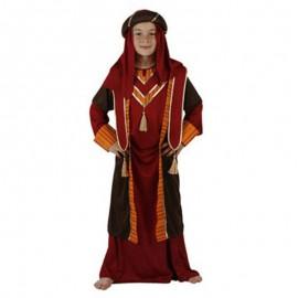 Disfraz de Árabe Rojo para niño